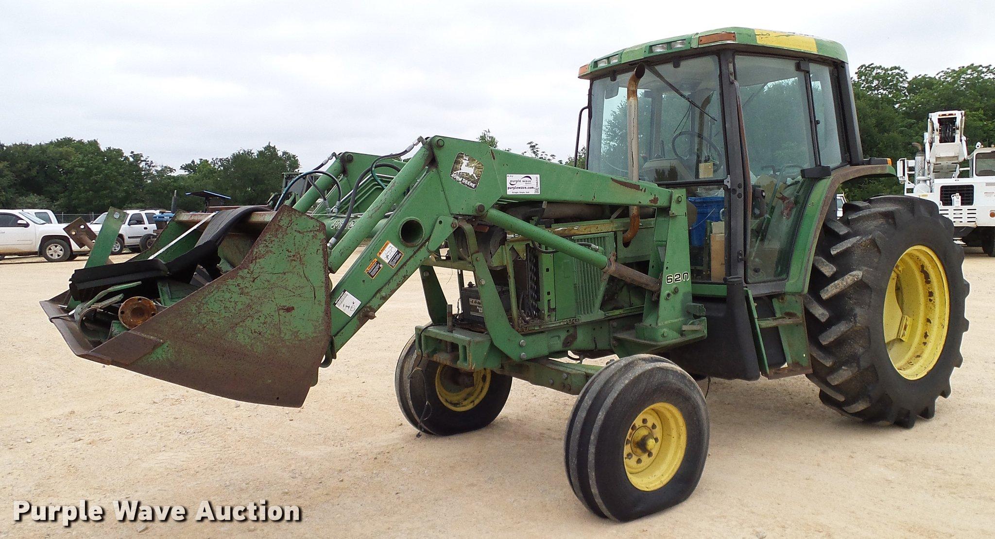 DA6247 1995 john deere 6400 tractor item da6247 sold! june 21 v