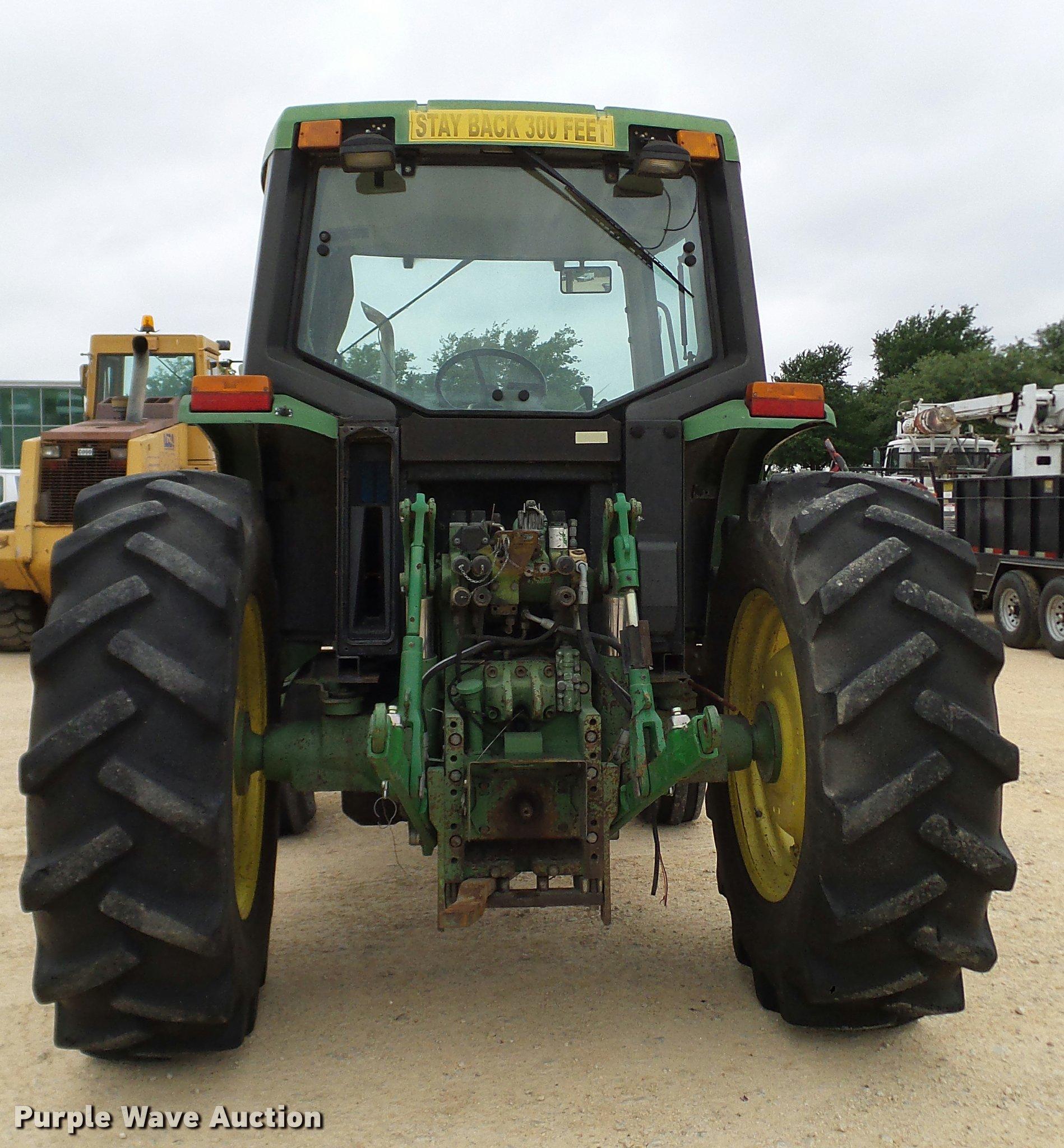 DA6247C 1995 john deere 6400 tractor item da6247 sold! june 21 v
