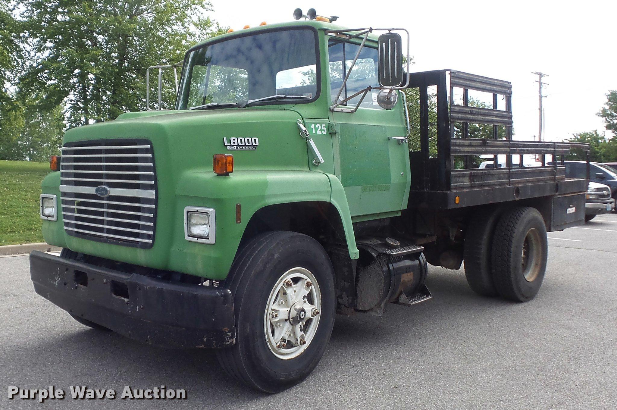 K7624 image for item K7624 1989 Ford L8000 ...