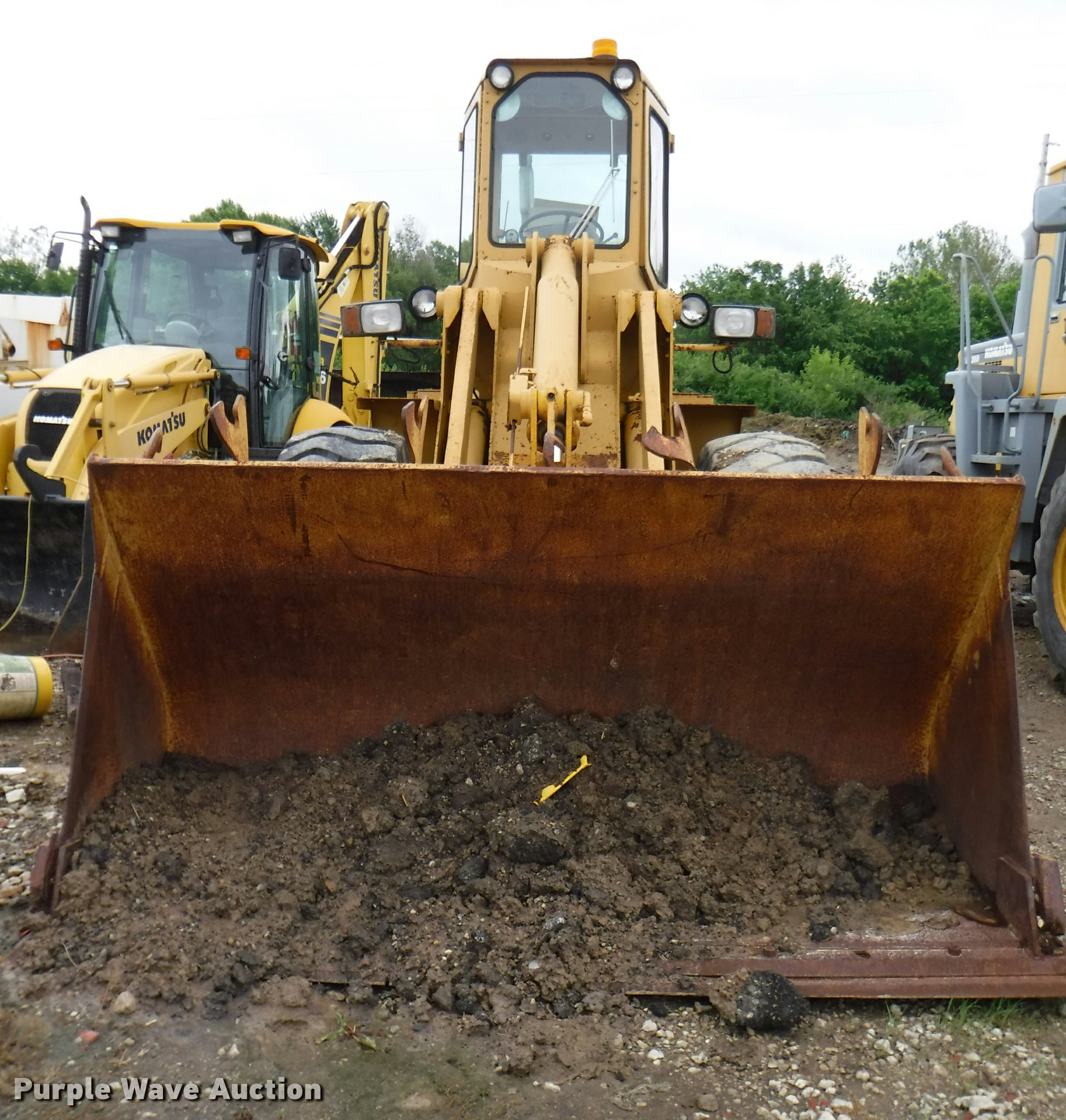 ford a66 wheel loader full size in new window