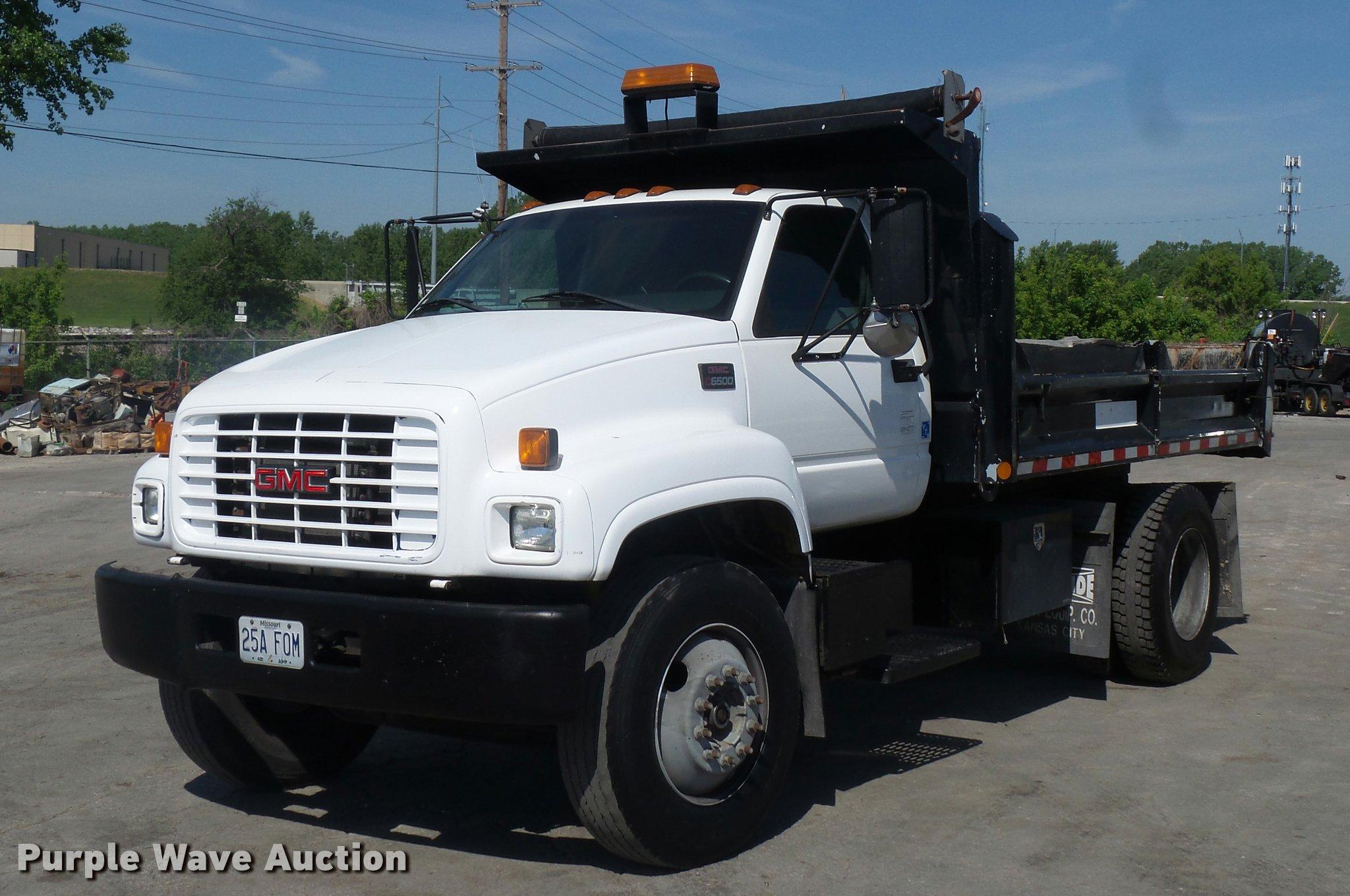 2001 gmc c6500 dump truck item dd9475 sold june 22 cons rh purplewave com Blueprints for 2001 GMC Blueprints for 2001 GMC