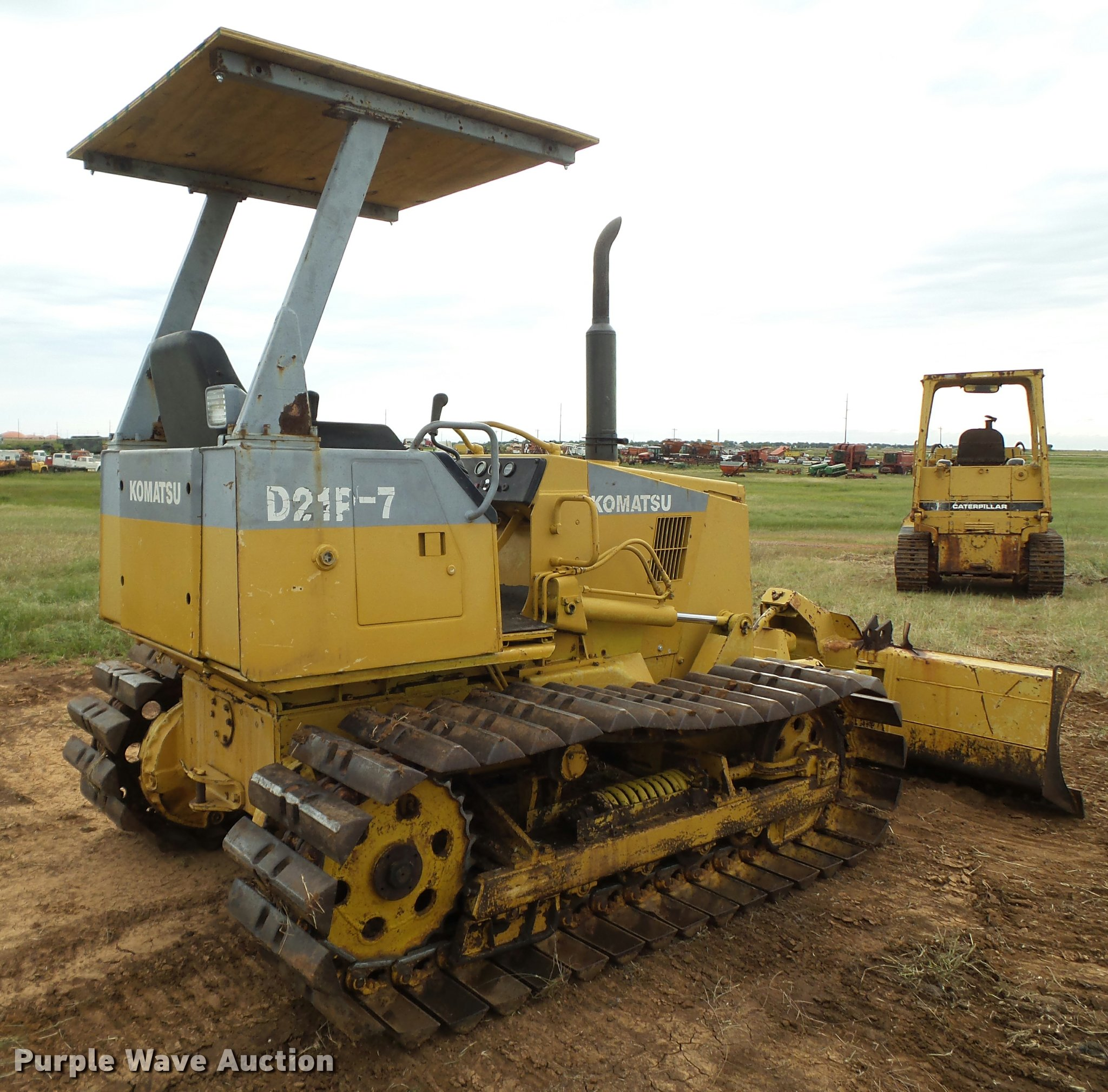 Komatsu D21P-7 dozer | Item DL9146 | SOLD! June 22 Construct