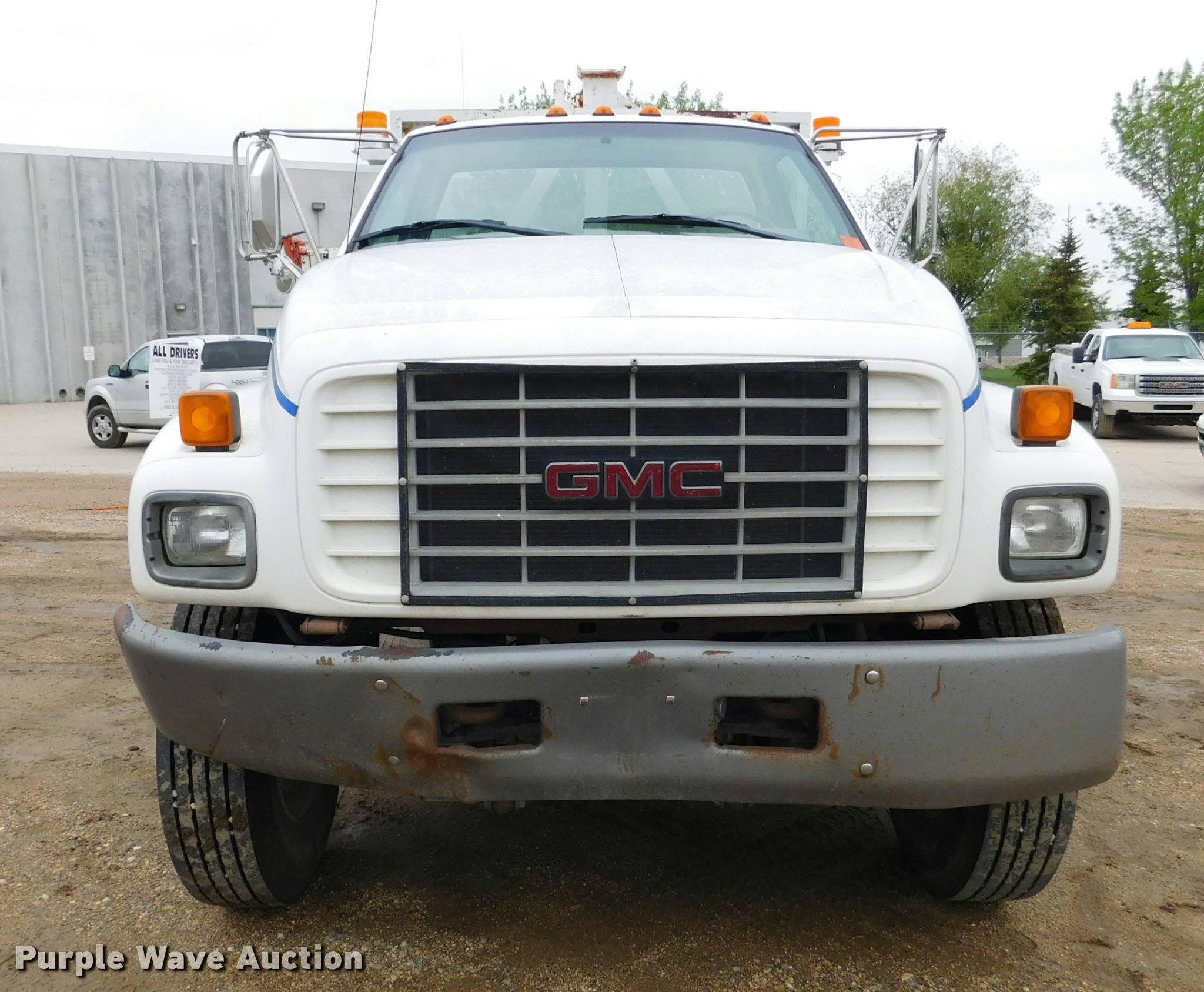 2000 GMC TopKick C7500 flatbed truck | Item DA1040 | SOLD! J