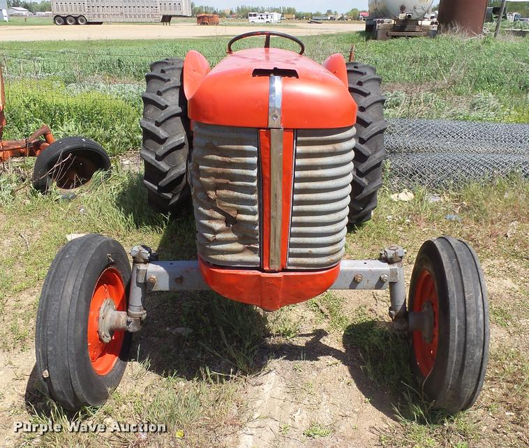 Watertown Ford Sd >> Massey-Harris MH-50 tractor | Item DH9653 | SOLD! June 28 ...