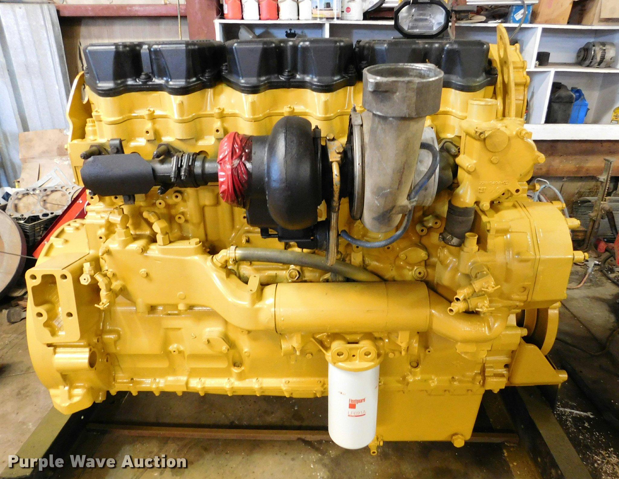 Caterpillar C15 Acert six cylinder turbo diesel engine | Ite