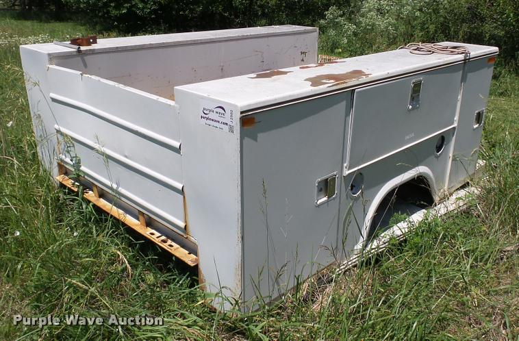 stahl utility bed | item j2502 | sold! july 5 vehicles and e