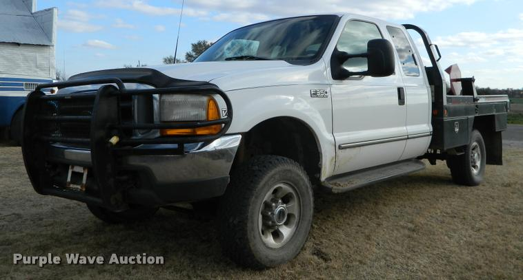 1999 Ford F350 Super Duty Supercab Bale Bed Pickup Truck I