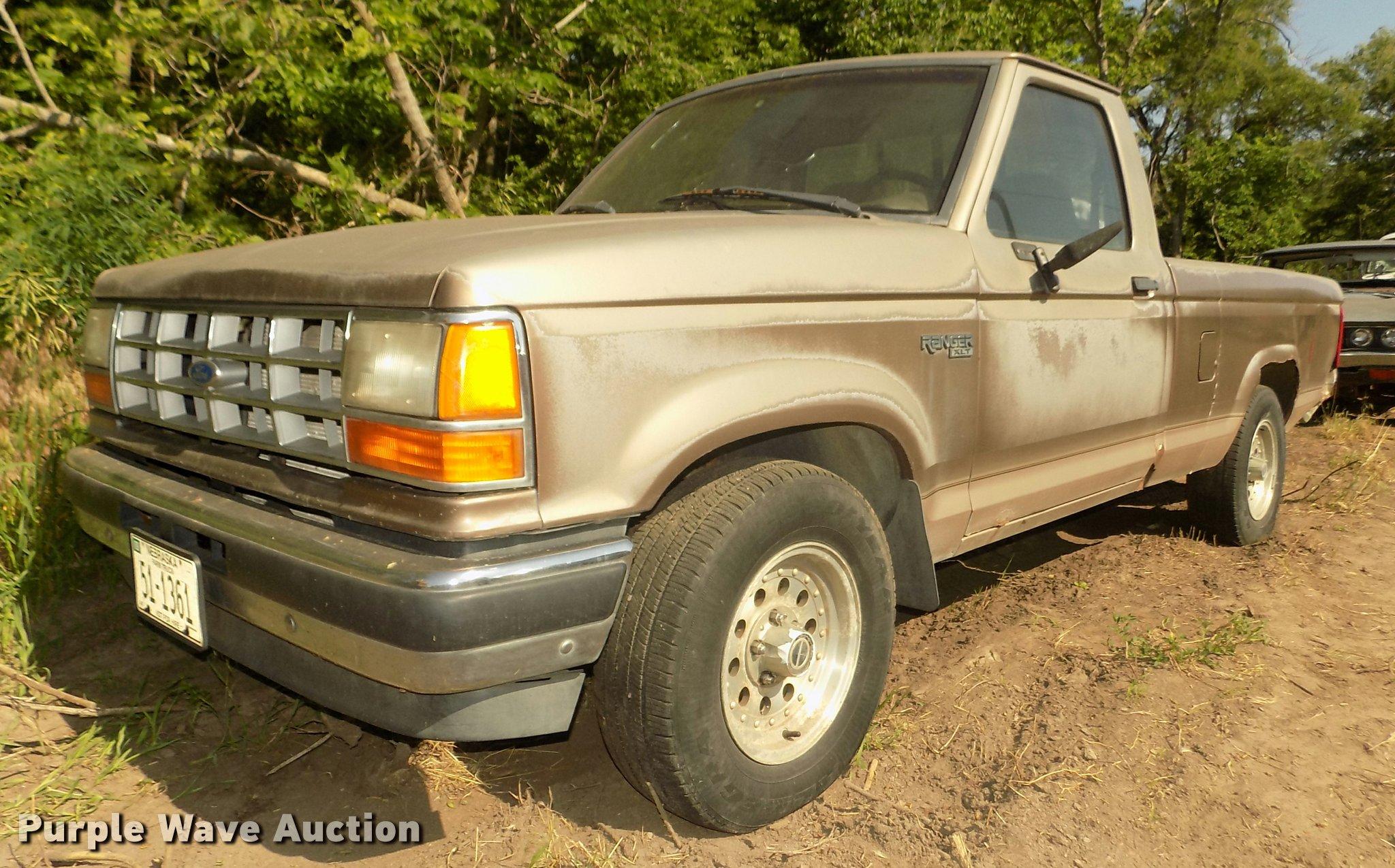 Da3016 image for item da3016 1992 ford ranger