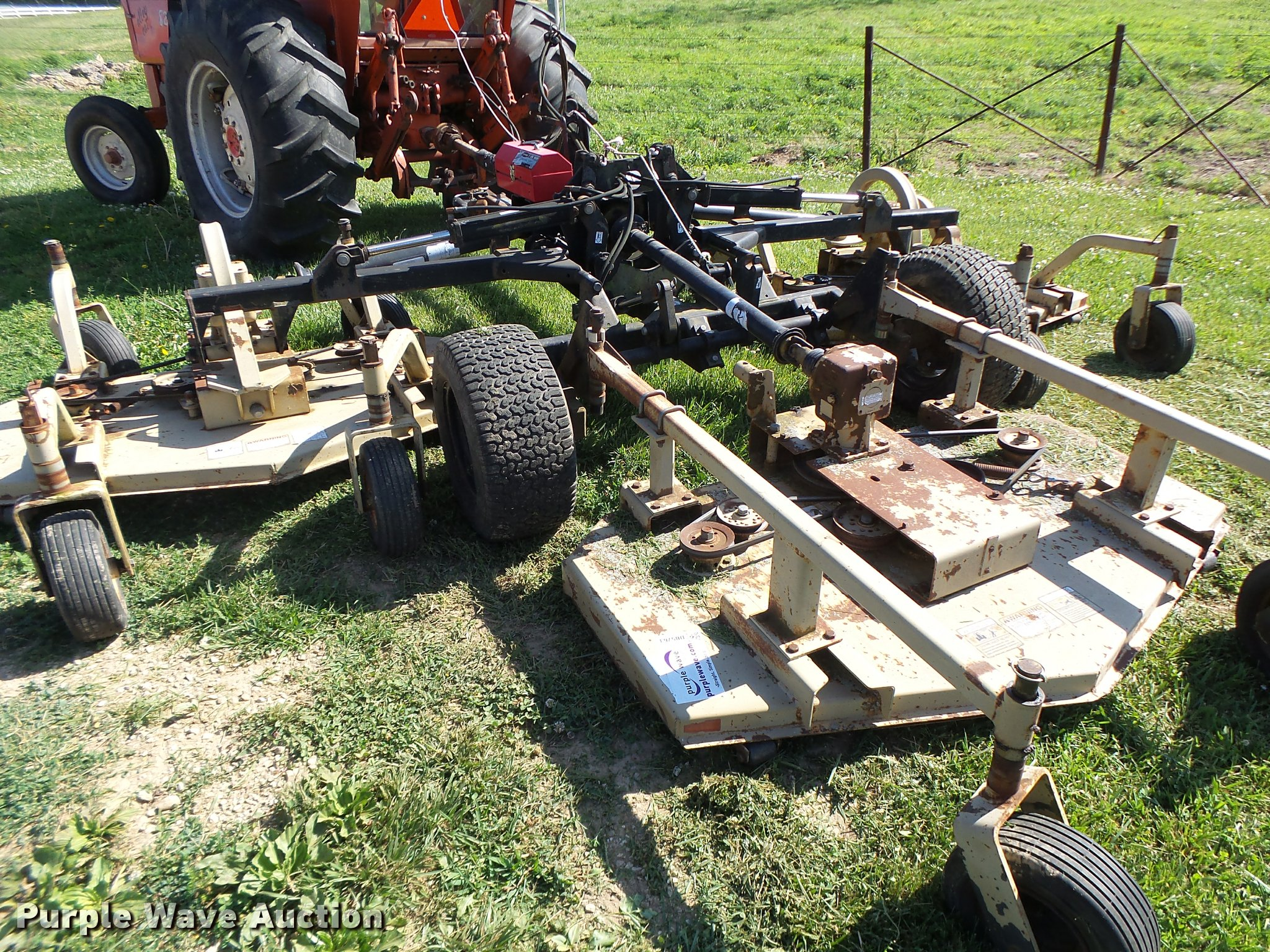 Land Pride AFM40168 batwing finish mower | Item DB5763 | SOL