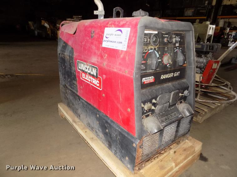 sa auction sale item sold image april welder for lincoln generator