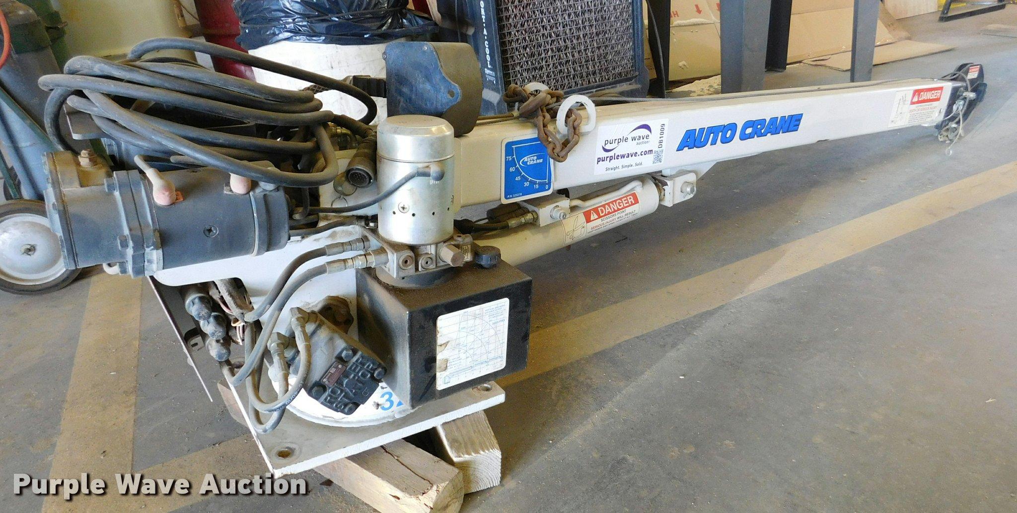 Auto Crane 110703 Winch Dcg8r 3203 Prx