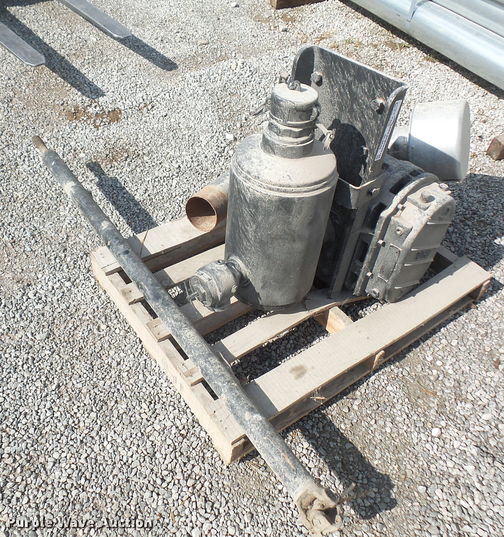 Tuthill blower attachment | Item DL9649 | SOLD! July 13 Truc