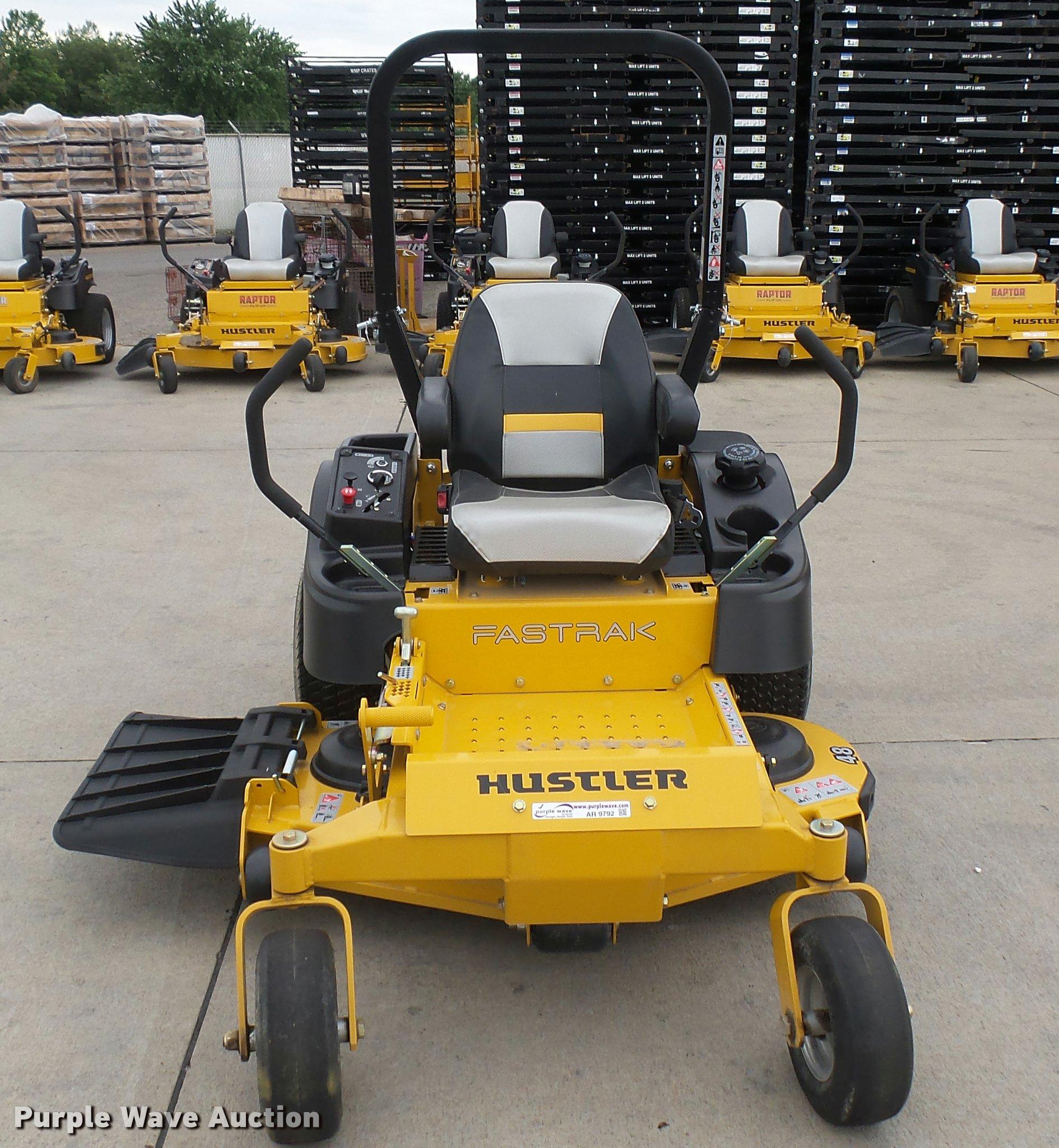 Consumer reviews on excel hustler fastrak lawnmower