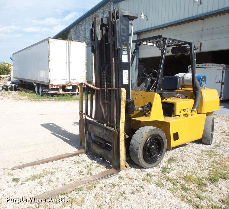 hyster h80xl forklift item da6484 sold july 19 vehicles rh purplewave com Hyster H70xl Hyster H80XL Parts