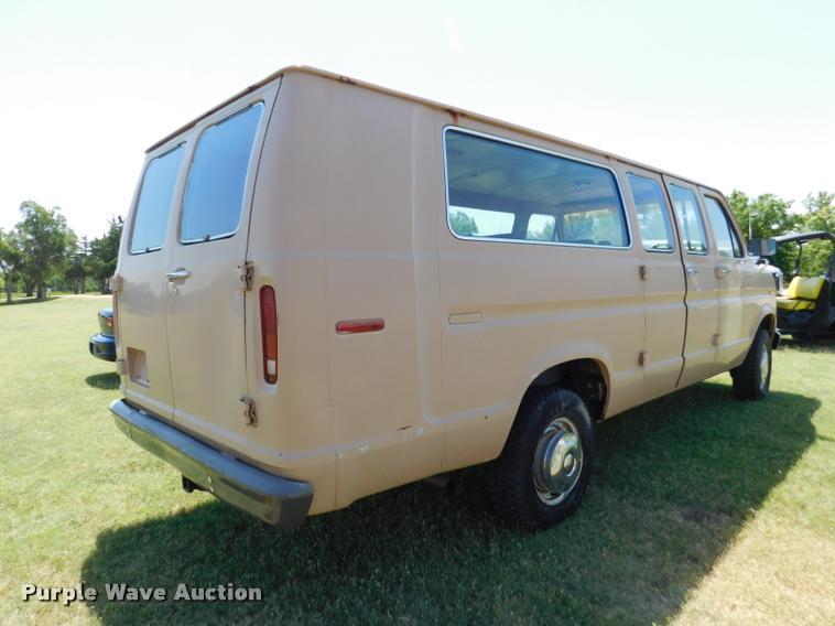 1985 Ford Club Wagon E350 XL Super van | Item DB9466 | SOLD!