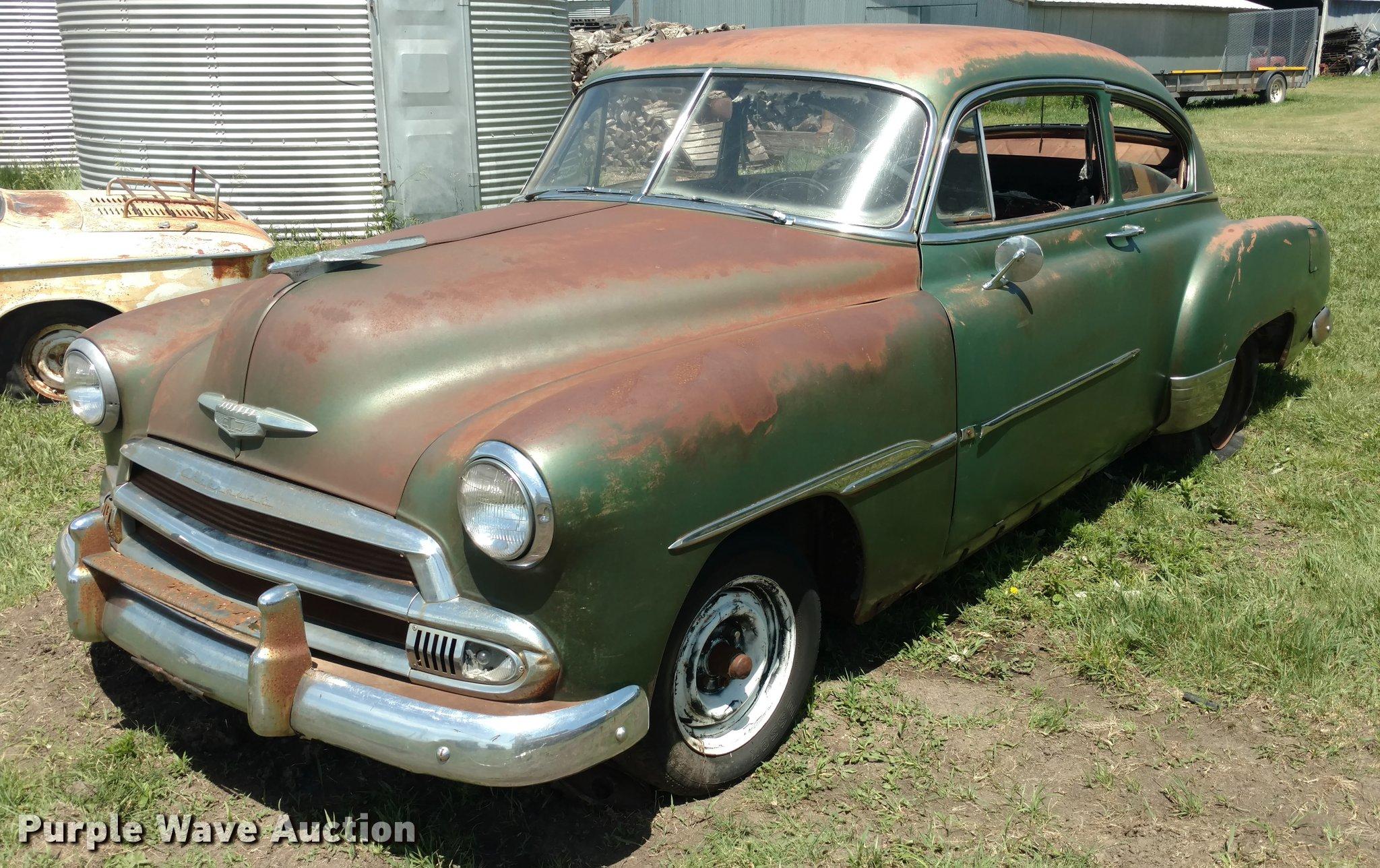 1951 Chevrolet Deluxe Item Da5559 Sold July 19 Vehicles 2 Door Image For