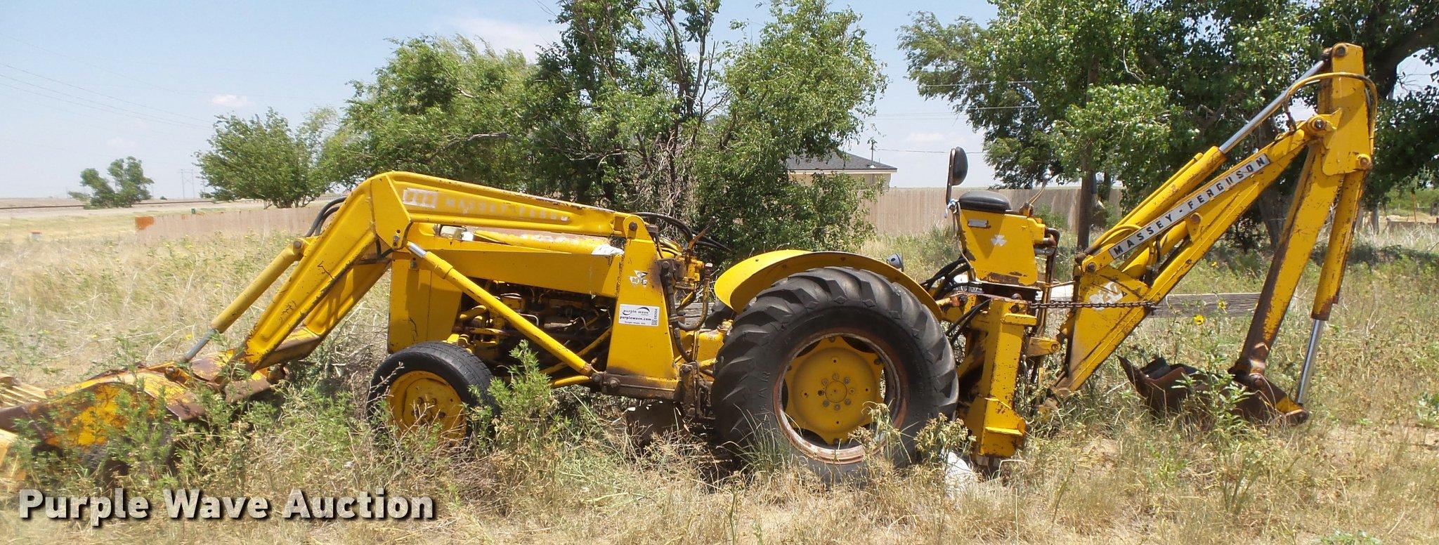 mf 202 loader