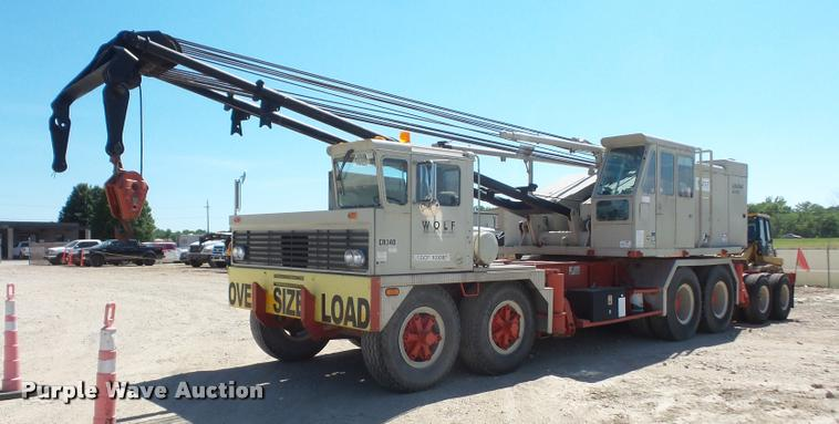 1977 link belt hc 218 crane item da6498 sold july 20 co rh purplewave com Manitowoc Cranes Link Belt Cranes Lexington Kentucky