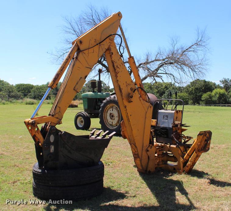John Deere Backhoe Attachment >> John Deere 9250 Backhoe Attachment Item L3163 Sold July
