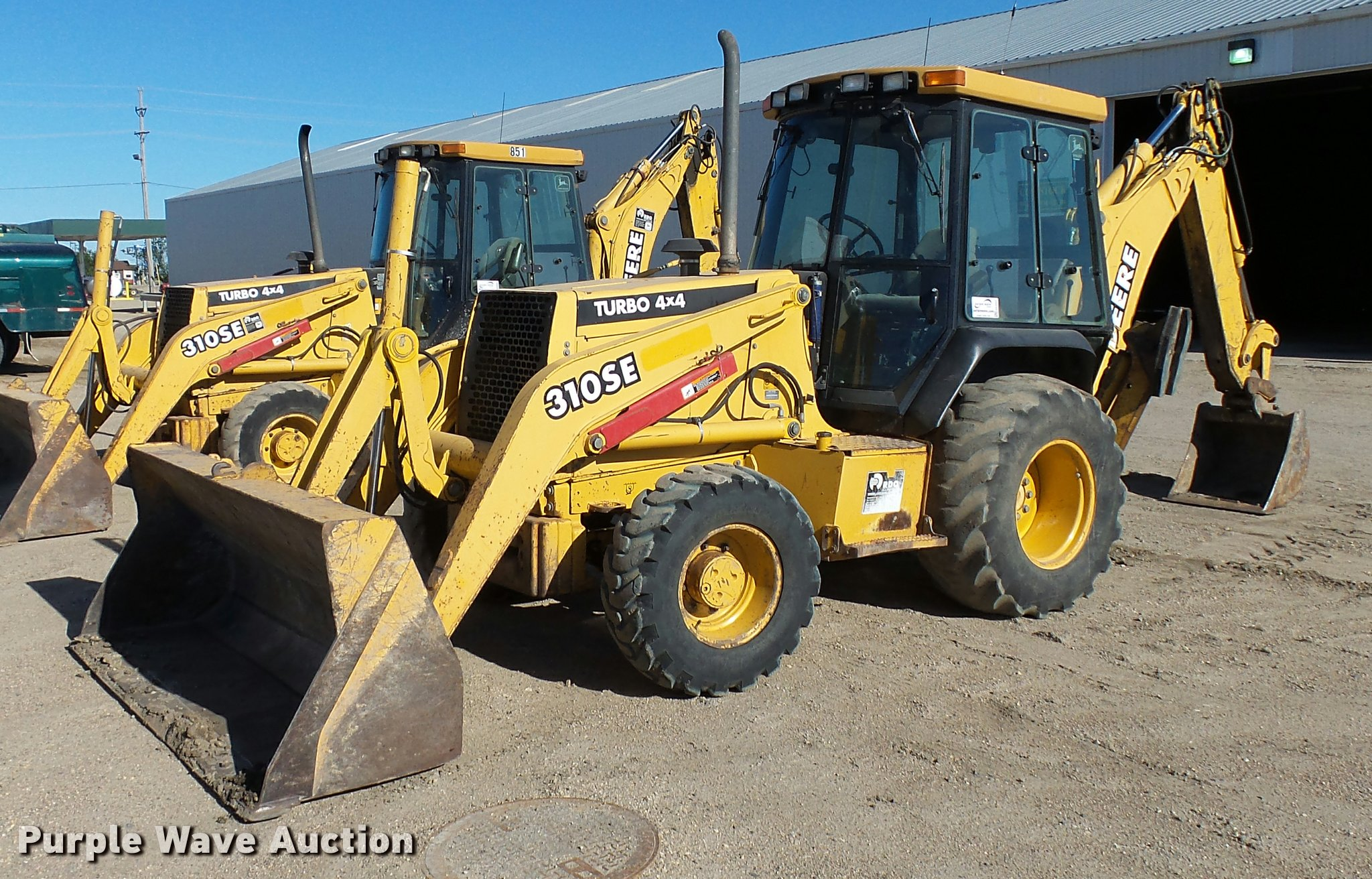 2000 John Deere 310se Backhoe Item J4370 Sold October 2