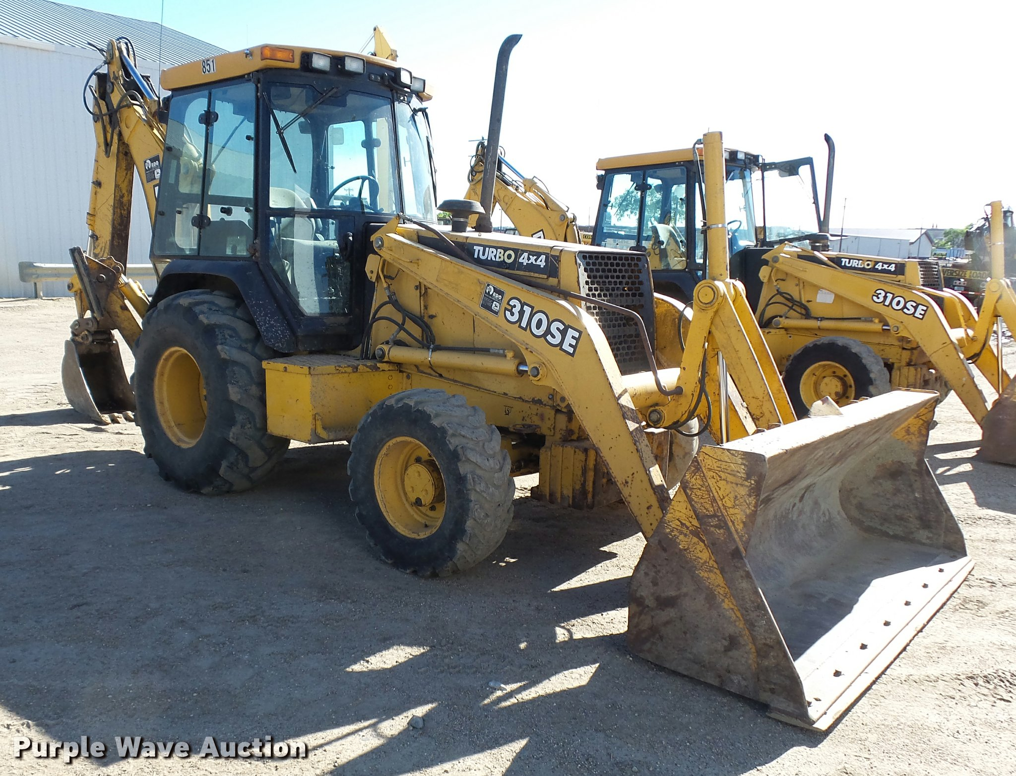 ... 1997 John Deere 310SE backhoe Full size in new window ...