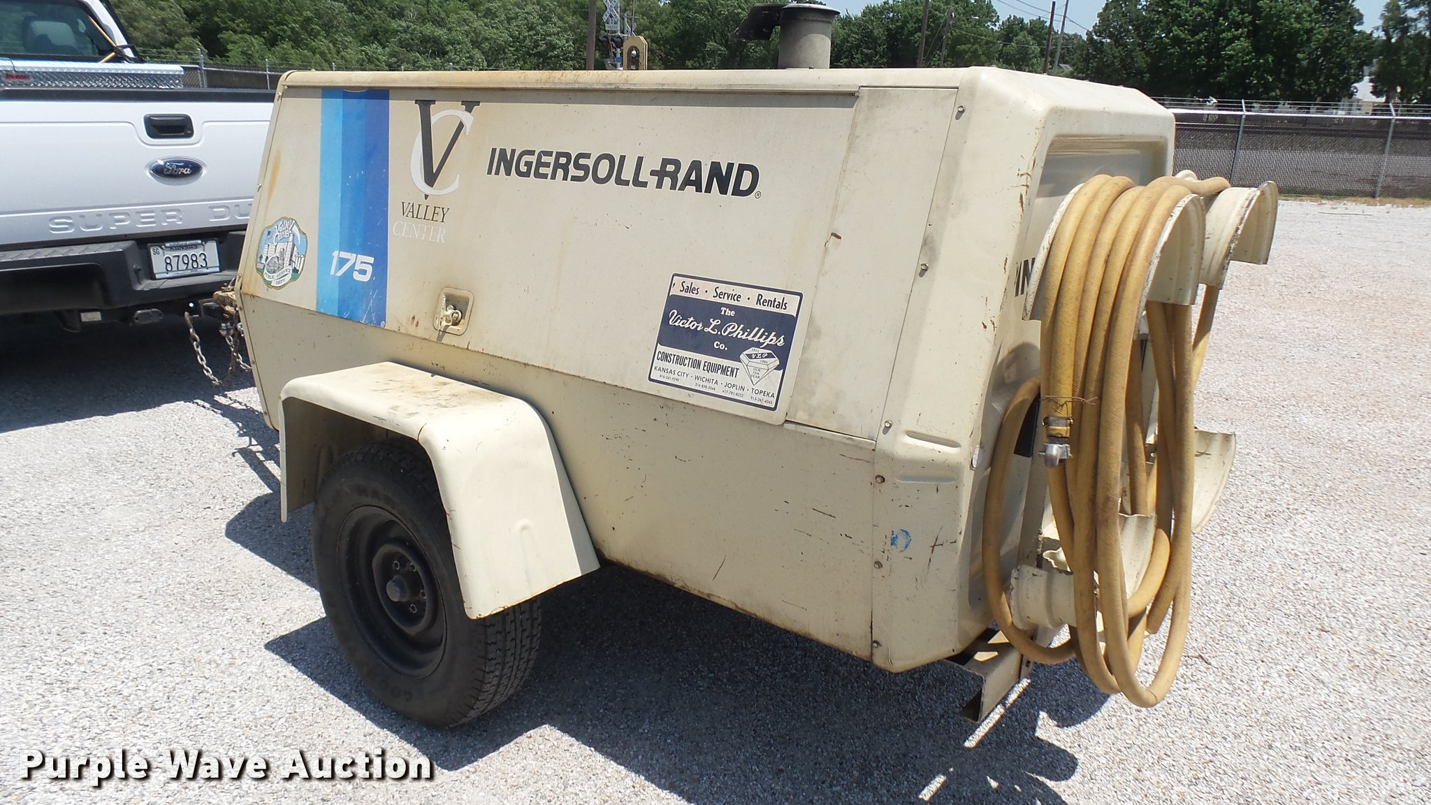 ... Ingersoll Rand 175 air compressor Full size in new window ...