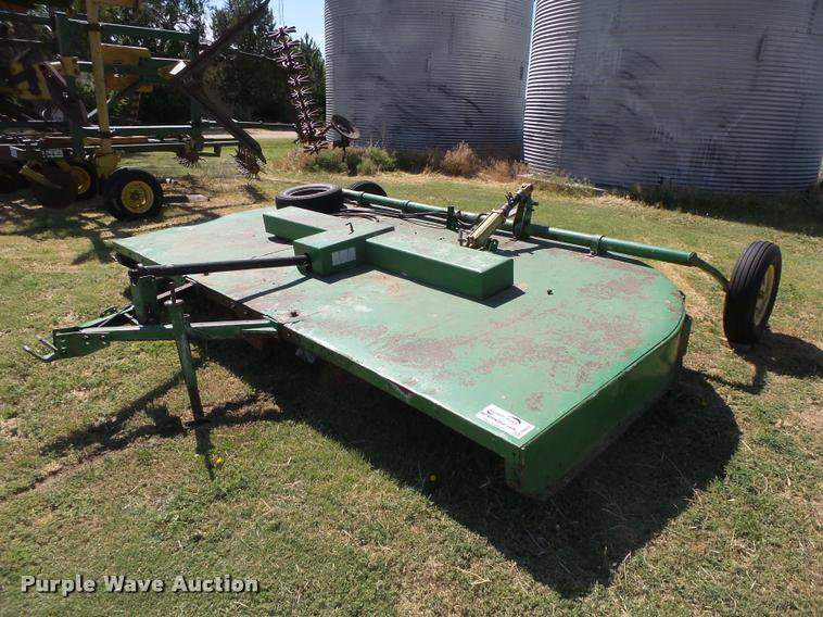 John Deere 737 Rotary Mower Item Db2678 Sold July 26