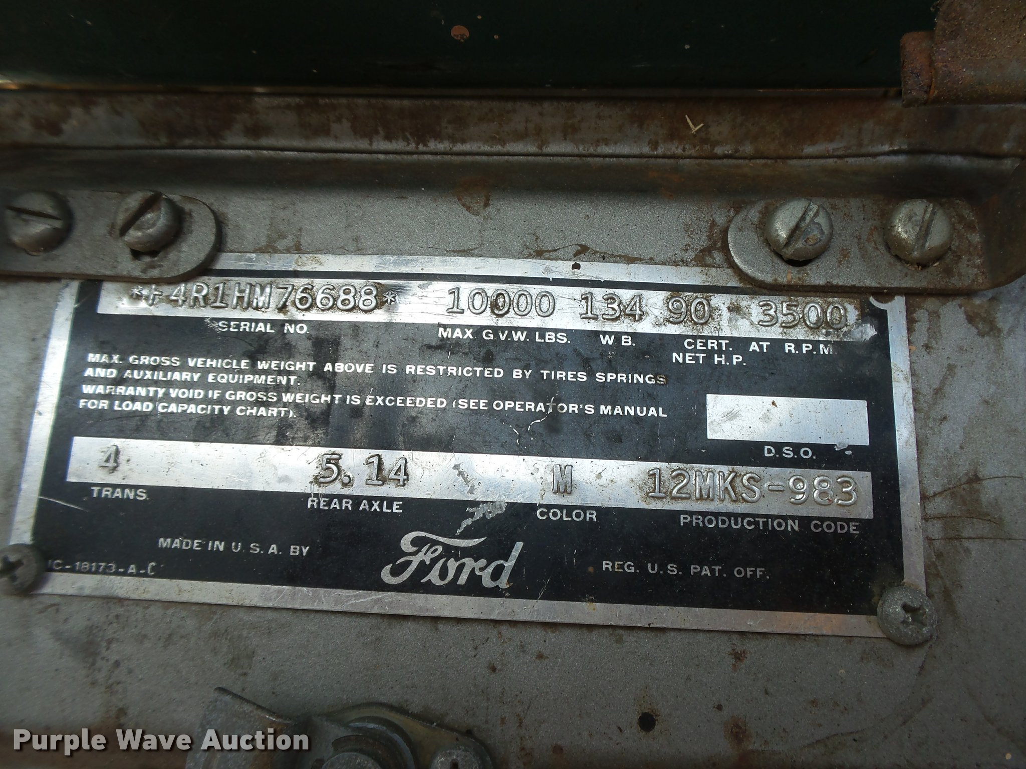1951 ford f4 grain truck item db2687 sold july 26 ag eq full size in new window nvjuhfo Image collections