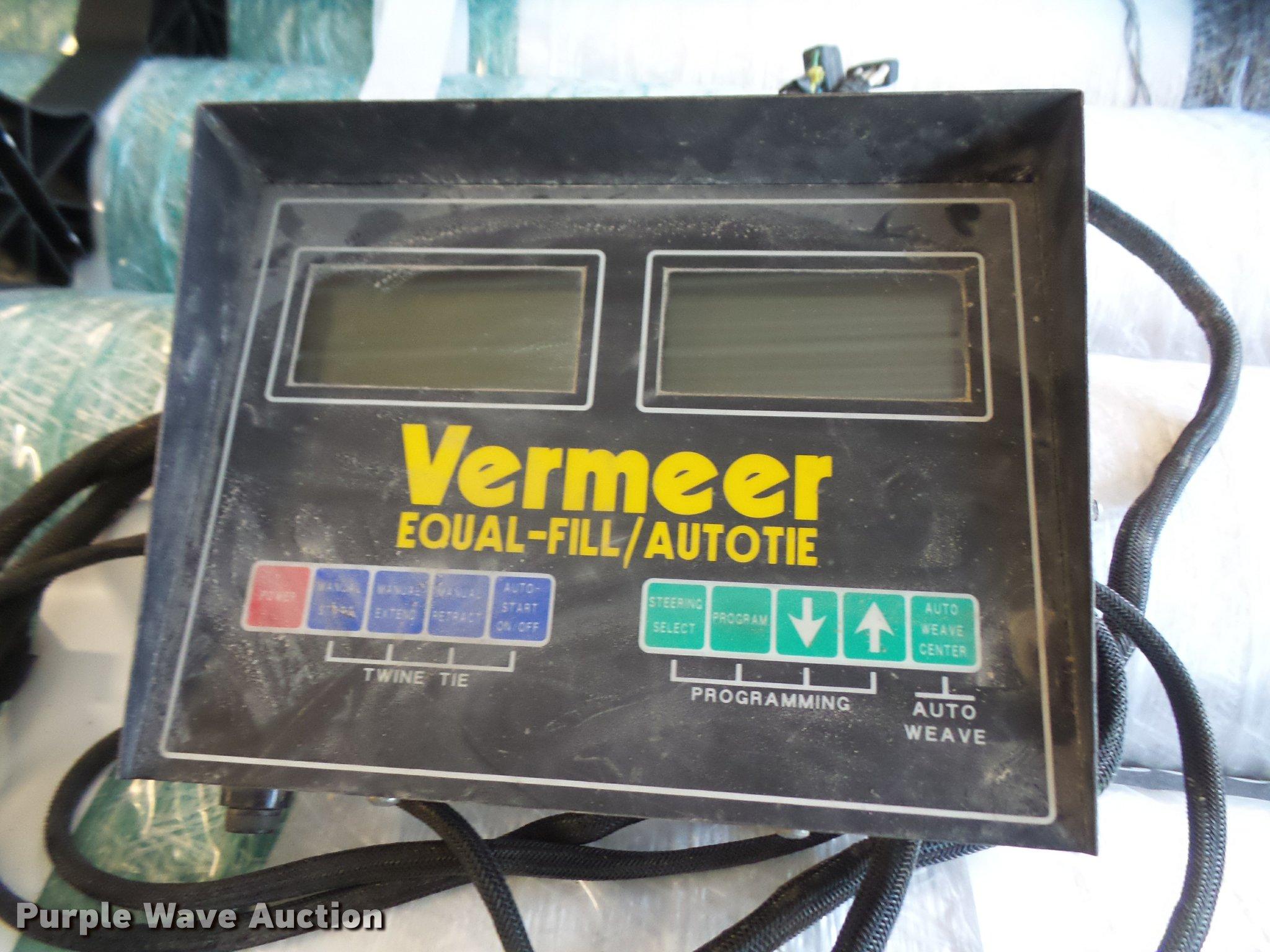 1991 Vermeer 605 Super J round baler | Item G1185 | SOLD! Ju