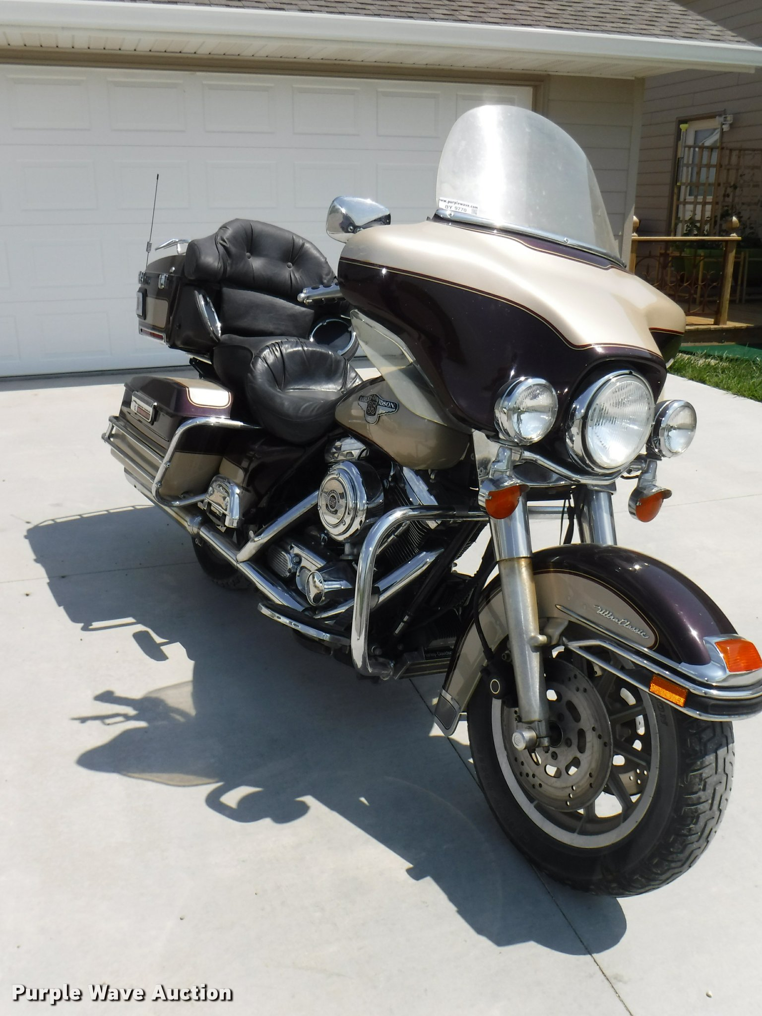 BY9770 image for item BY9770 1998 Harley Davidson Ultra Classic Electra  Glide Touring motorcycle