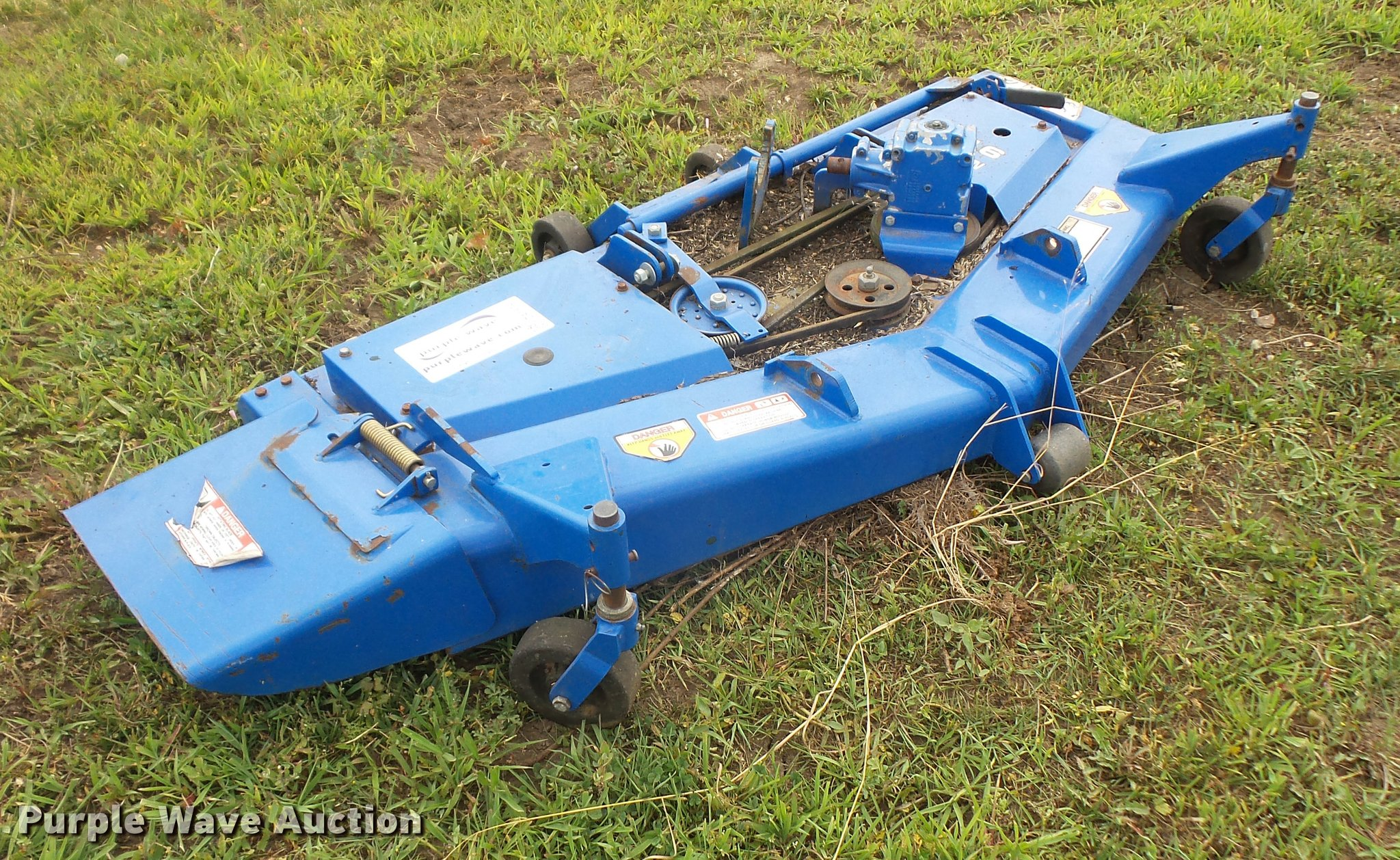 New Holland 914a Mid Mounted Mower Deck Item Da1579