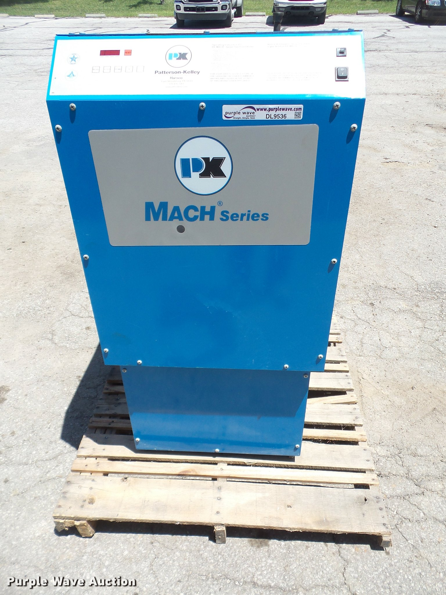 2009 Patterson Kelley C450LNX Mach Series boiler | Item DL95...
