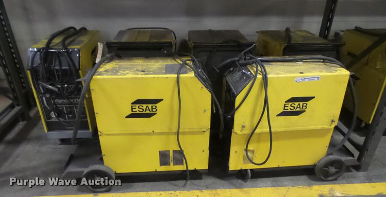 12 Esab Parts Welders Item DK9447 SOLD August 8 Gover