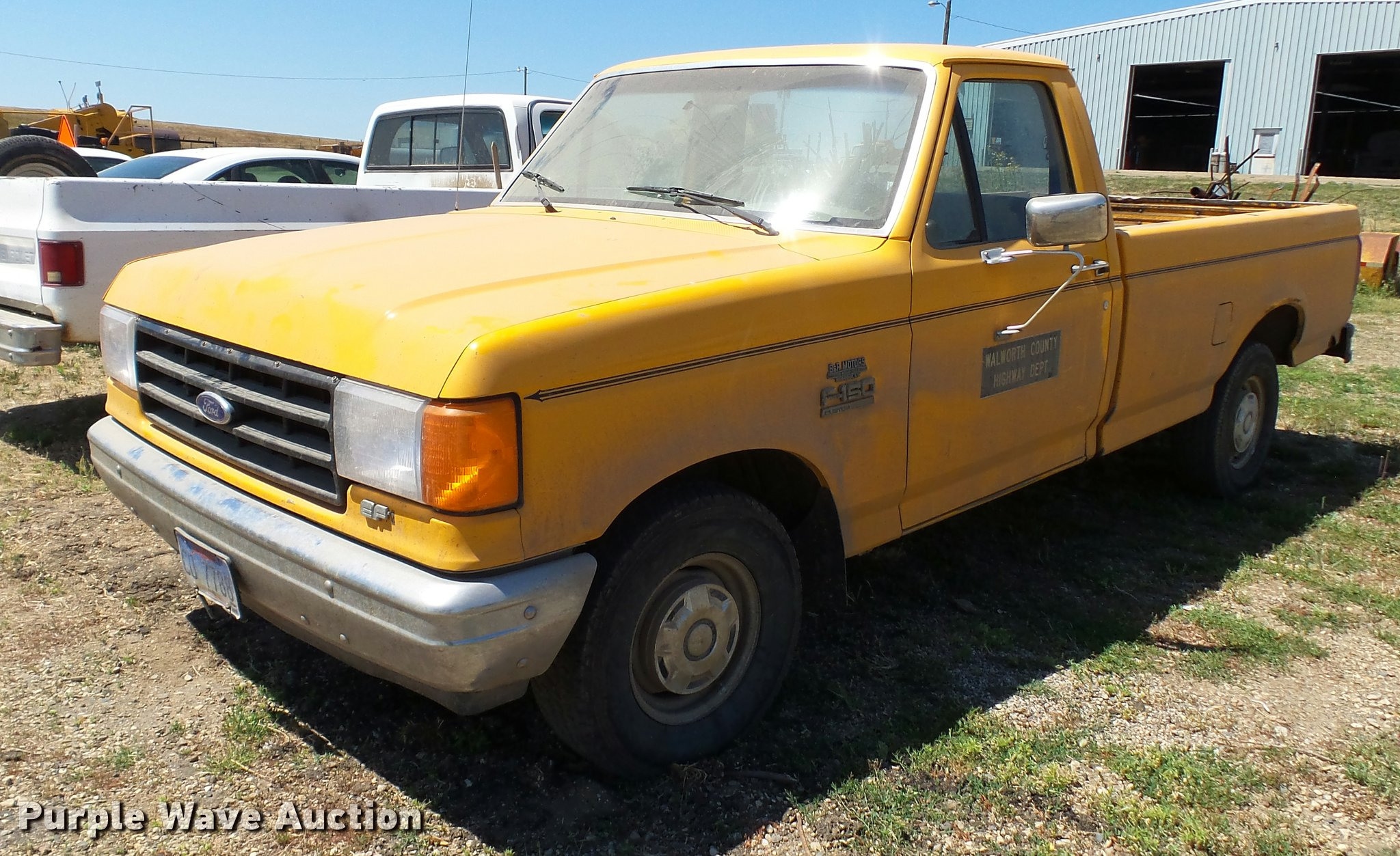 Da1149 image for item da1149 1988 ford f150