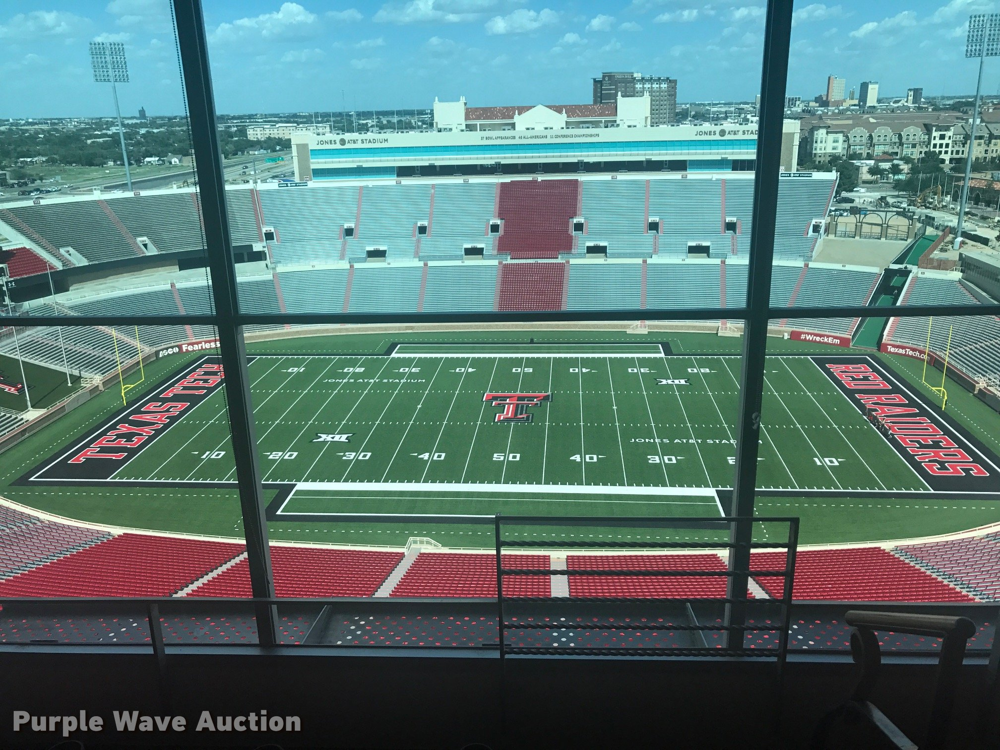 4 Box Seats Football Tickets For Texas Tech Vs Arizona State In Lubbock Tx Item G1284 Sold Purple Wave