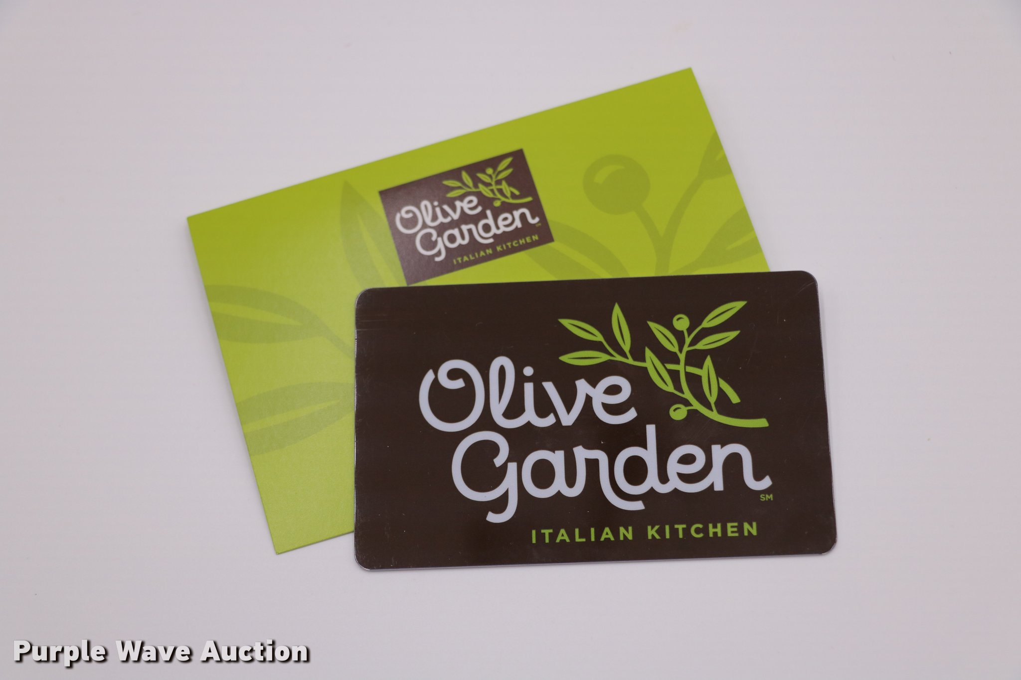 50 Olive Garden Gift Card Item G1317 Sold August 15 Ba
