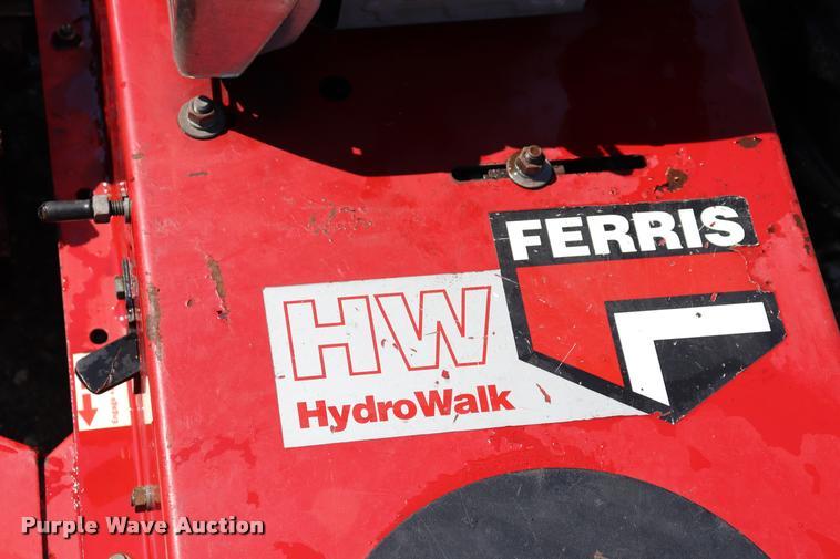 Ferris Hydrowalk BC25H field and brush mower | Item DQ9487 |