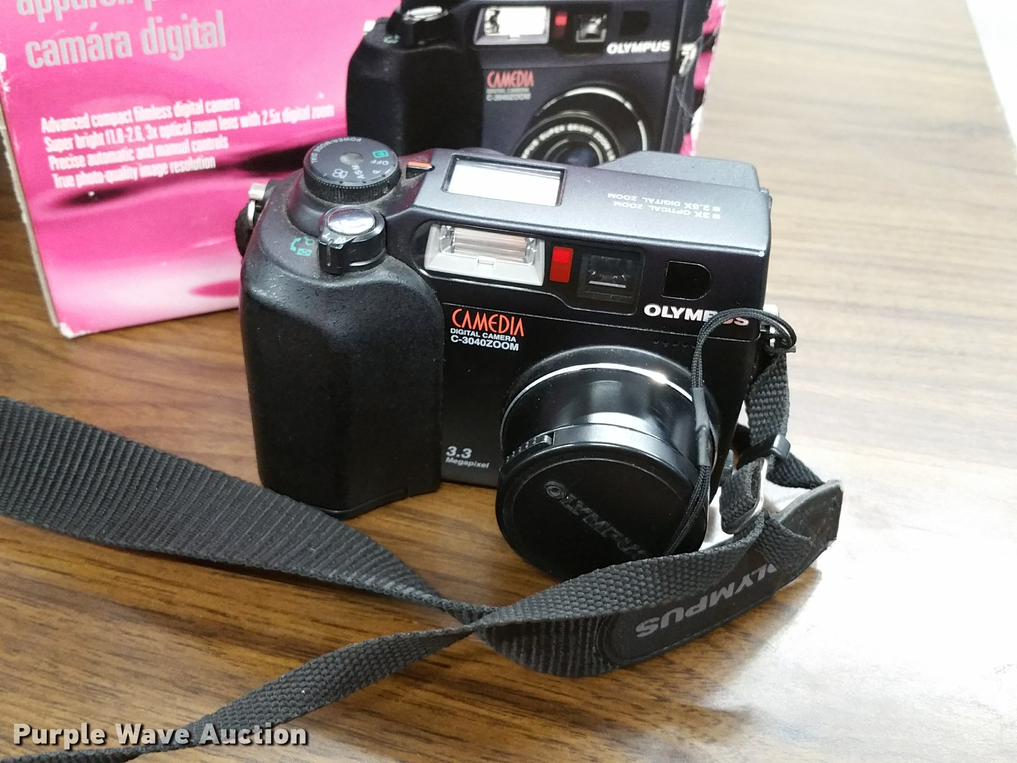 3) Olympus cameras | Item BV9125 | SOLD! August 16 Vehicles