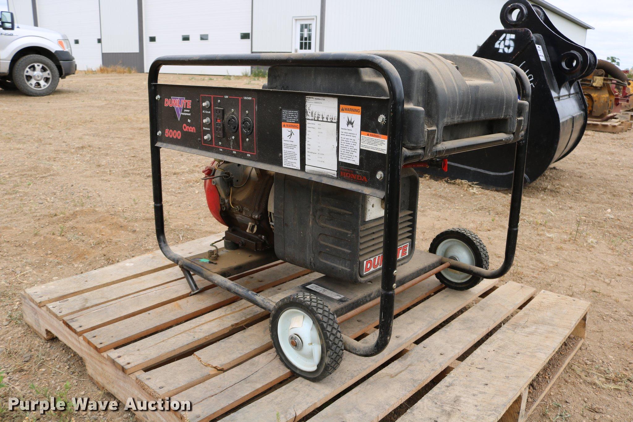 Onan dunlite power equipment 5grba 378a generator item dm9 full size in new window cheapraybanclubmaster Choice Image
