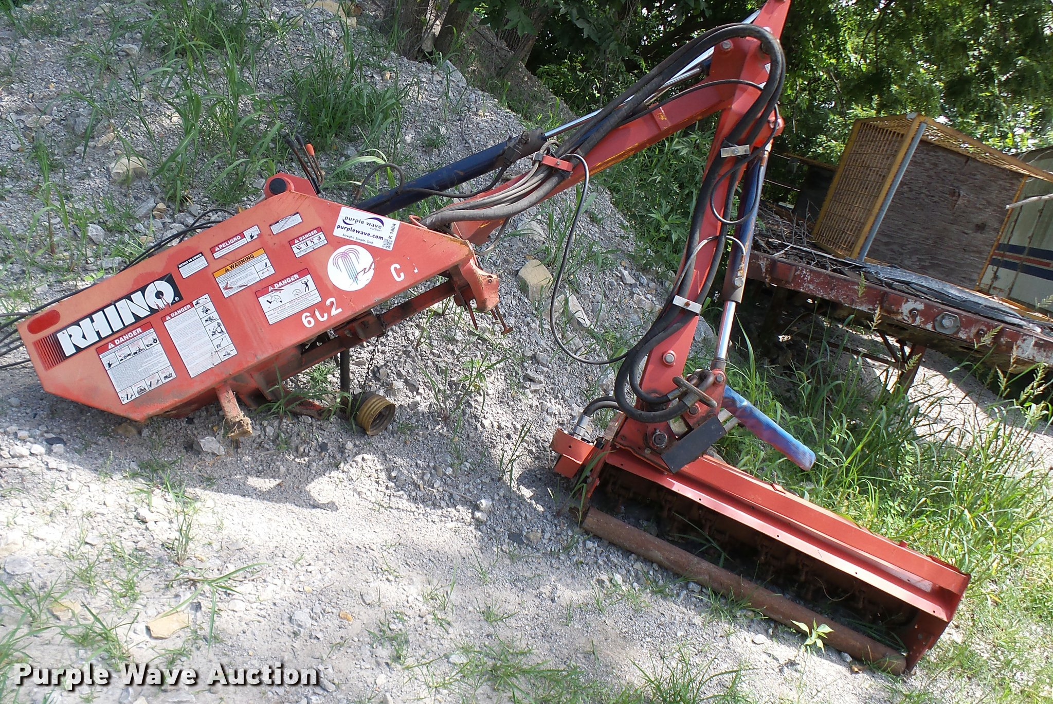 Rhino 07290013 boom flail mower | Item K1864 | SOLD! August