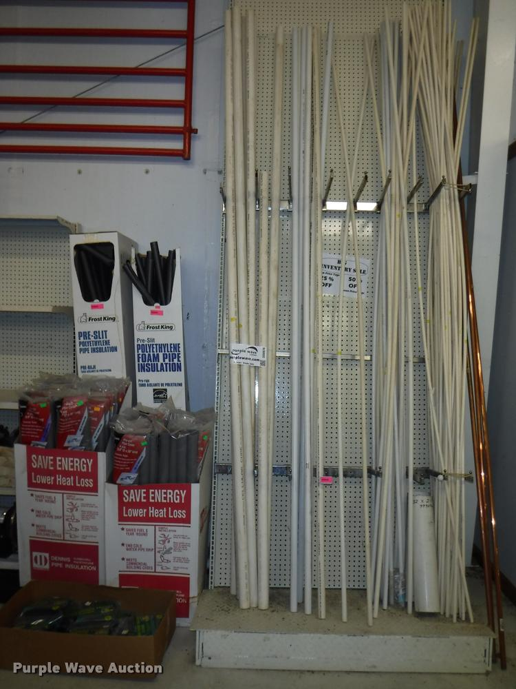 PVC pipe and insulation | Item DD0976 | SOLD! August 22 AgMa