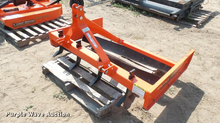Land Pride GS0560 grading scraper | Item DR9447 | SOLD! Augu