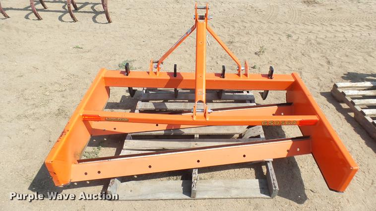 Land Pride GS0560 grading scraper   Item DR9447   SOLD! Augu