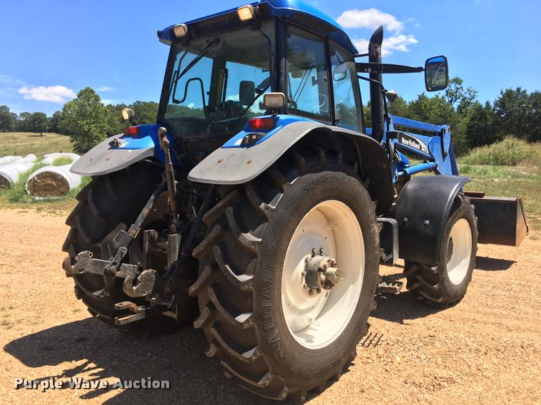 2003 New Holland TM190 MFWD tractor | Item G1362 | SOLD! Aug