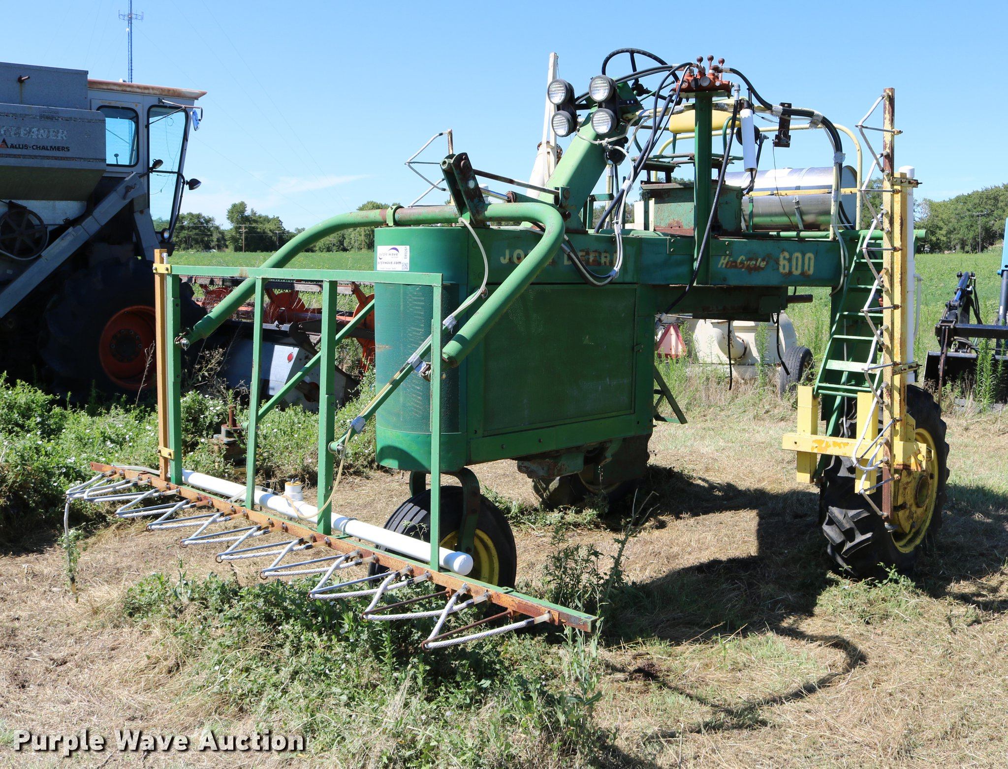 DB9261 image for item DB9261 John Deere Hi-Cycle 600 ...