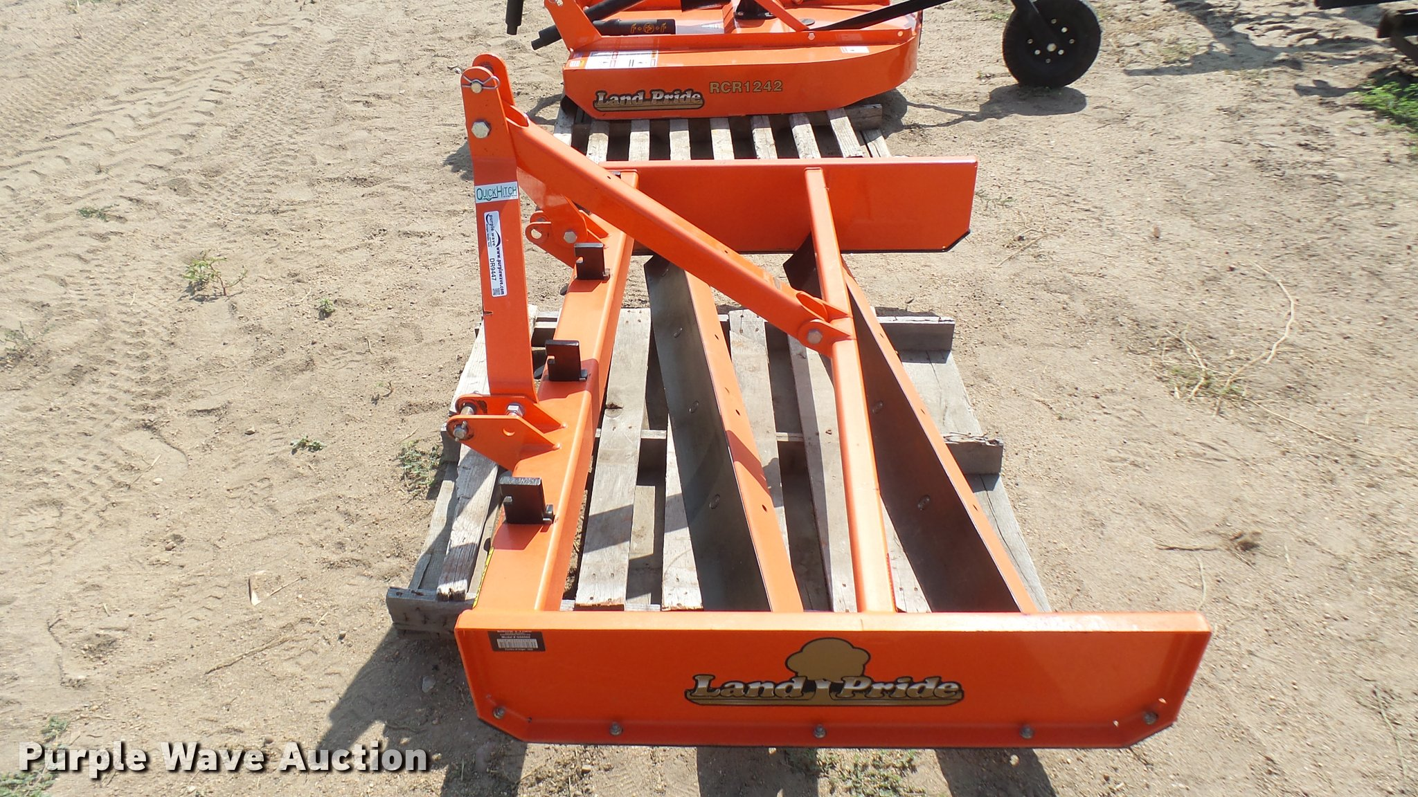 Land Pride GS0560 grading scraper | Item DR9447 | SOLD! Augu