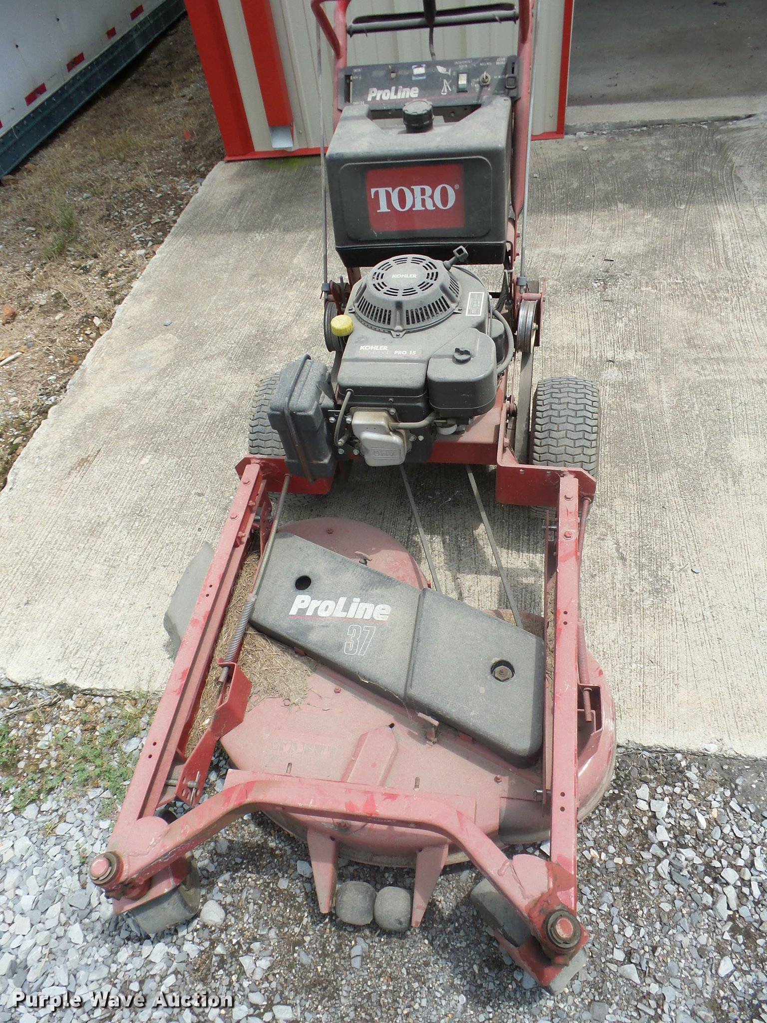toro proline 37 walk behind mower