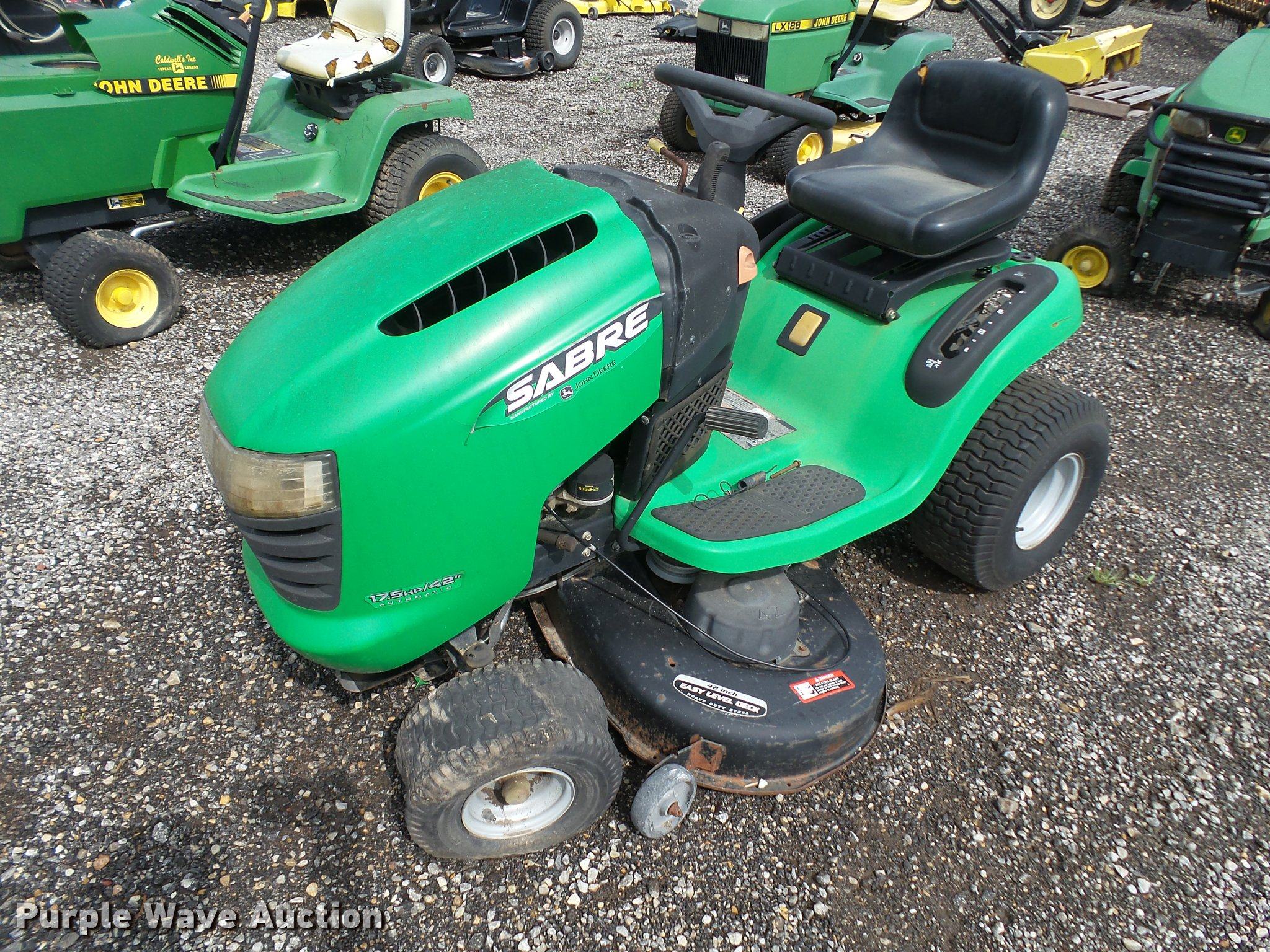 John Deere Sabre >> John Deere Sabre Lawn Mower Item Da1932 Sold August 30