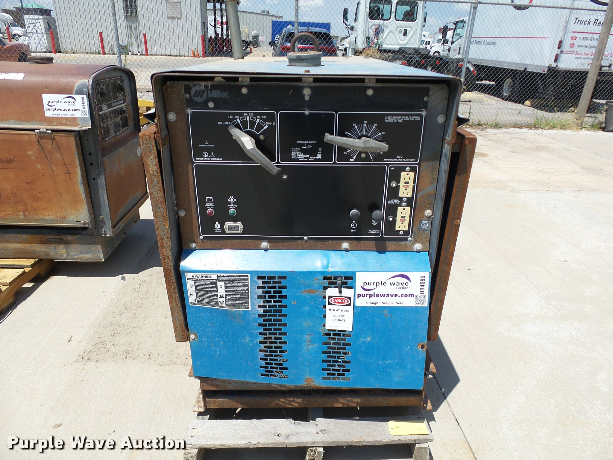 Miller Big Blue 400D CC/DC welder/generator   Item DB4089   ... on