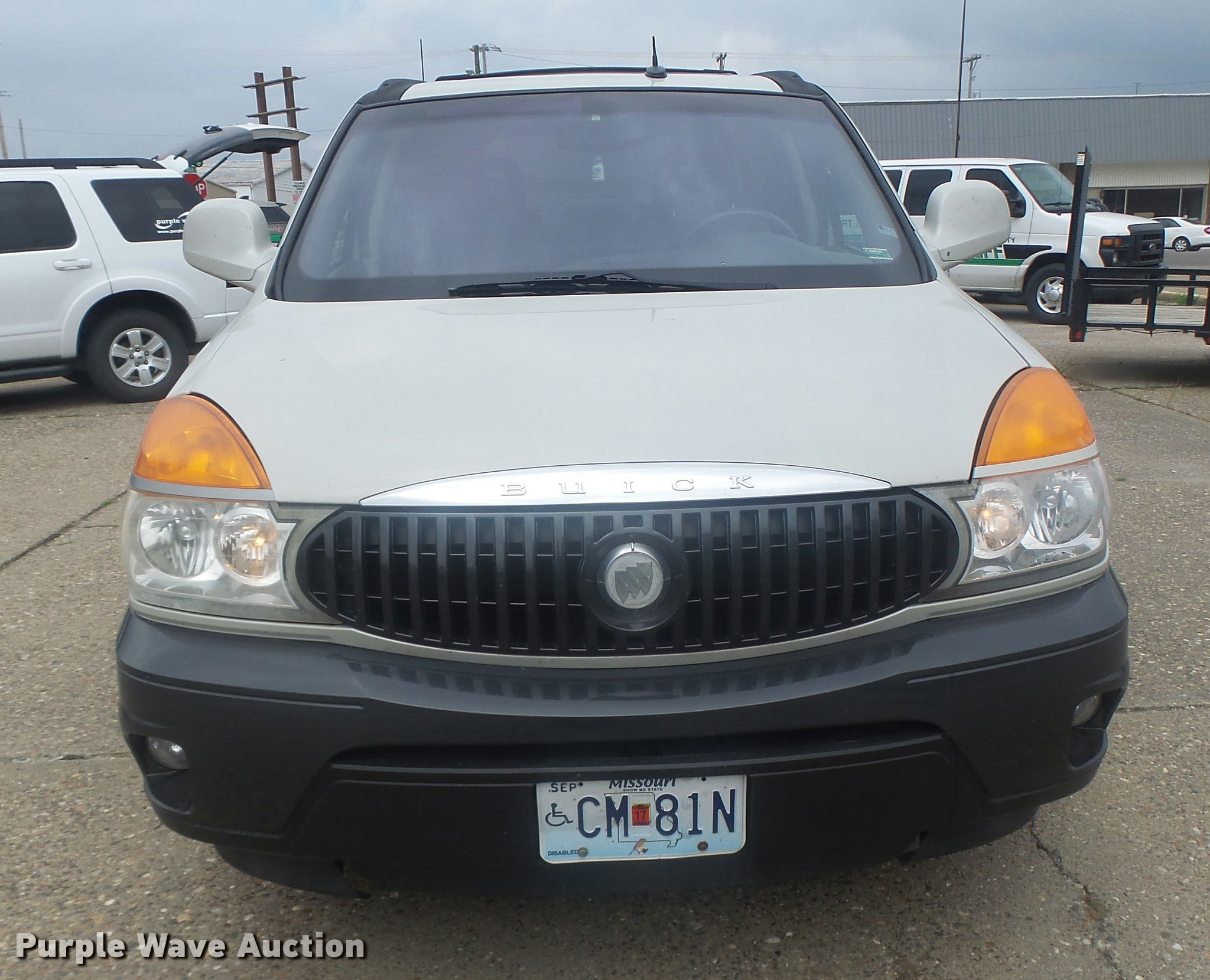 2003 buick rendezvous suv full size in new window
